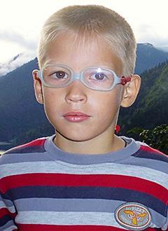 Леня Авдоничев, 6 лет, двусторонняя сенсоневральная тугоухость 1-2 степени, требуются слуховые аппараты. 213600 руб.