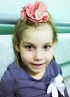 Лиза Семиенова, 7 лет, детский церебральный паралич, требуется лечение. 199430 руб.