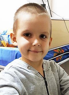 Никита Бергман, 5 лет, острый лимфобластный лейкоз, спасет трансплантация костного мозга, требуются лекарства. 1470718 руб.