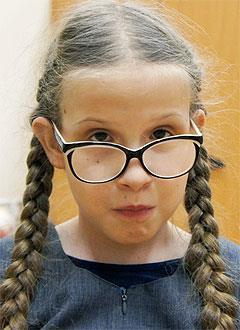 Вика Сидоркина, 10 лет, врожденный нистагм, требуется лечение. 133477 руб.