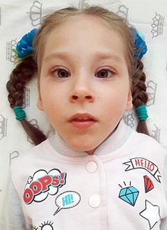 Вика Кудряшова, 5 лет, детский церебральный паралич, требуется лечение. 199430 руб.