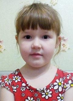 Рита Гудко, 5 лет, врожденный порок сердца, спасет эндоваскулярная операция, требуется окклюдер. 253657 руб.