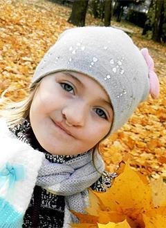 Ангелина Егорова, 5 лет, рубцовая деформация верхней губы, расщелина альвеолярного отростка, сужение верхней челюсти, требуется ортодонтическое лечение. 200000 руб.