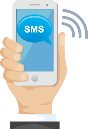 Пожертвование при помощи SMS